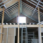 Golv på loftet eller entresolplanet som det så vackert heter.  (kan man ha tomtar på entresolplanet eller är det bara på loftet??)
