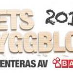 En av finalisterna i Årets Byggblogg!