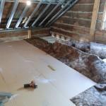 Golv på loftet