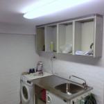 Överskåp i tvättstugan