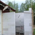 Murning av kylrummet