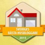 Rösta på oss i Sveriges bästa husbloggare !