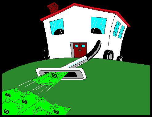Hus med pengar