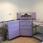 Montering av lådor i köksstommar