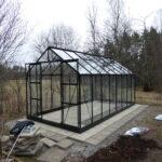 Montering av växthus